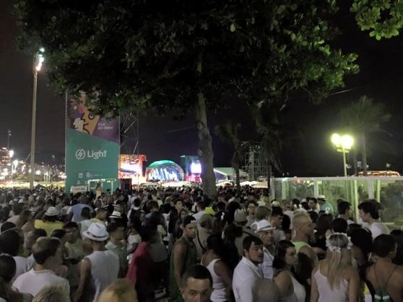 Nyår på Copacabana