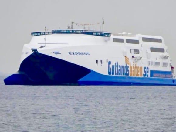 Här kommer den: Gotlandsbåten!