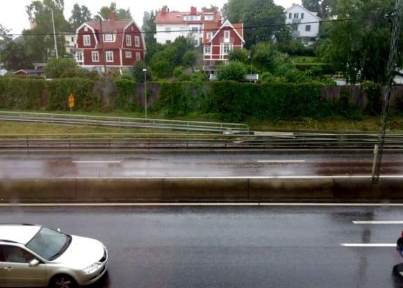 Regn i Stockholm