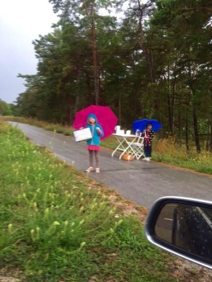 Superentreprenörer som trotsar regnet