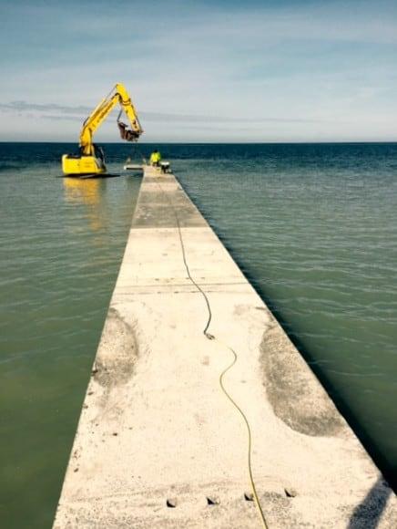 Region Gotland bygger ny badbrygga