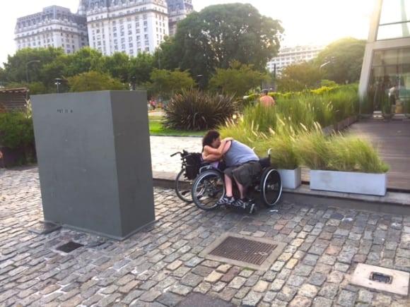 Kärlekspar i Buenos Aires