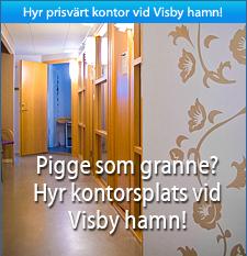 Hyr kontor i Visby hamn
