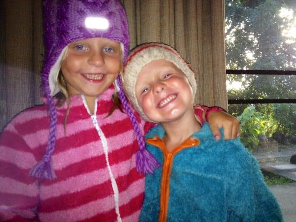Mina två tsunami-barn: Wilda och Towe!